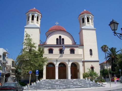 Kirche in der Nähe des Parks von Rethymnon.