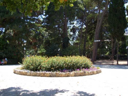 Der Stadtpark von Rethymnon.