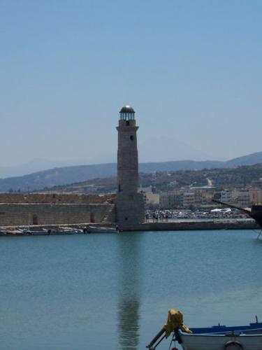 Der Hafen von Rethymnon.