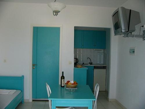 Ein weiteres Studio der Anlage Blue Beach auf Akrotiri.