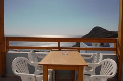 Und noch einer der Balkons mit dem wirklich traumhaften Meerblick.