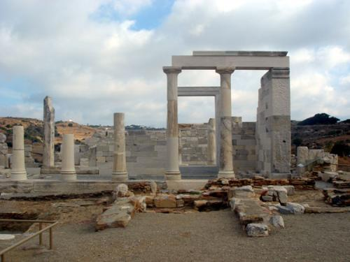 Der Demetra-Tempel auf Naxos