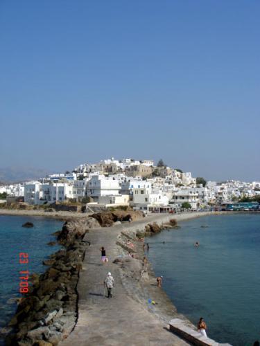 Chora - Die Hauptstadt von Naxos