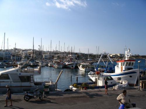Der Fischerhafen von Naoussa