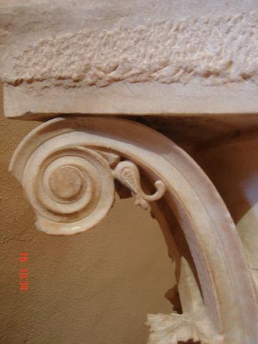 Epidaurus - Besterhaltenes korintisches Kapitel
