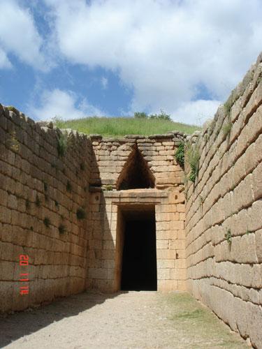 Mykene - Das Grab von Atreus