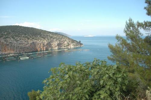 Küste südlich von Korfos