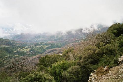 Peloponnes im Winter