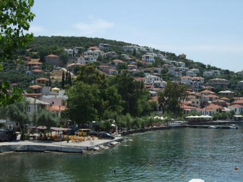 Der östliche Teil mit dem alten Hafen.