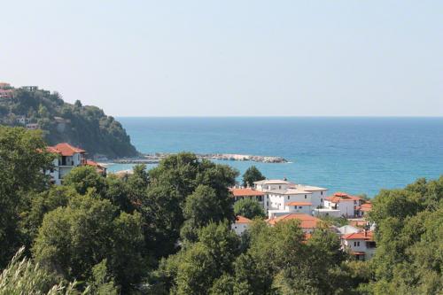 Blick aus Richtung Mouressi auf Agios Ioannis.