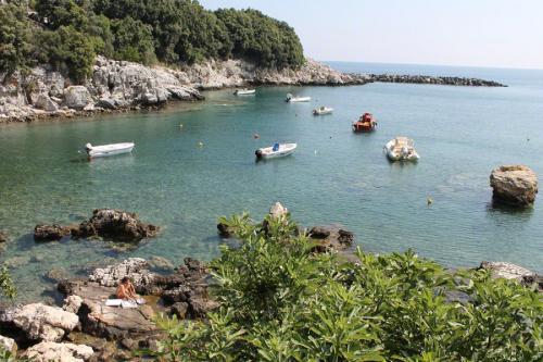 Blick aus der Bucht.