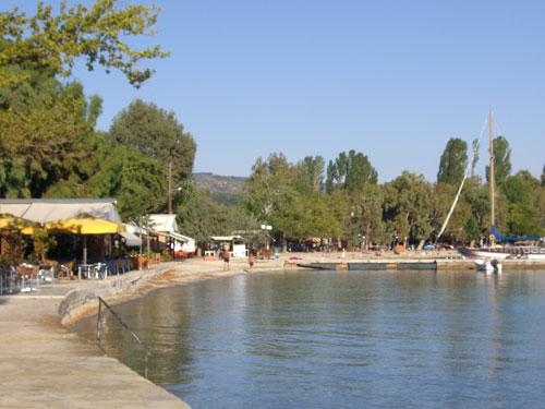 Der zentrale Strand.