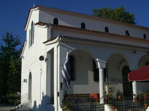 Eine der Kirchen in Kala Nera.