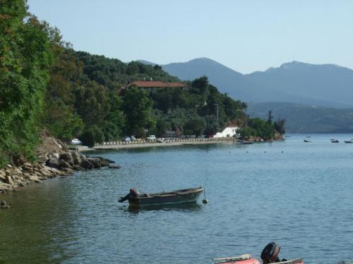 Der westlichste Teil der Bucht von Milina.