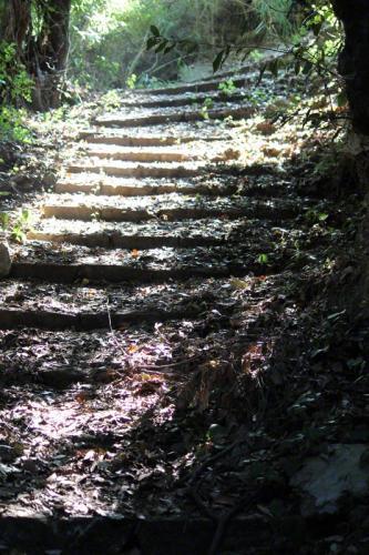 Wanderweg von Papa Nero in Richtung Mouresi.