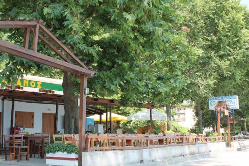Eines der zwei Restaurants von Papa Nero.