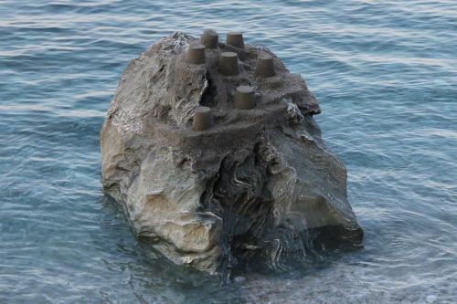 Sandburgen bauen geht auch in Papa Nero.