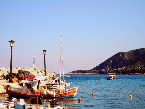 Agio Ioannis - Hafen.