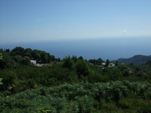 Blick von Zagora aus in Richtung Horefto.