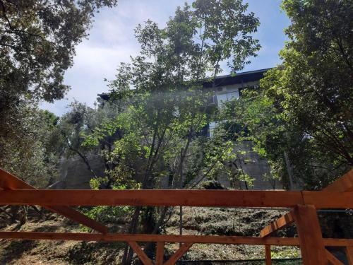 Blick von der Terrasse zum Haus Katerina