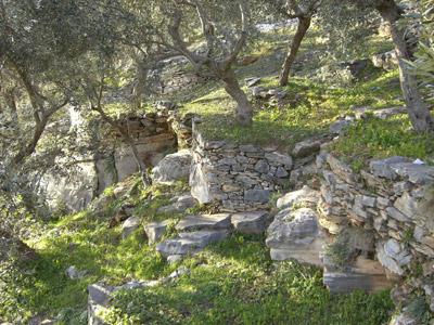 Ansichten an einem der zahlreichen Wanderwege des Pilion.