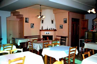 Das hoteleigene Restaurant.